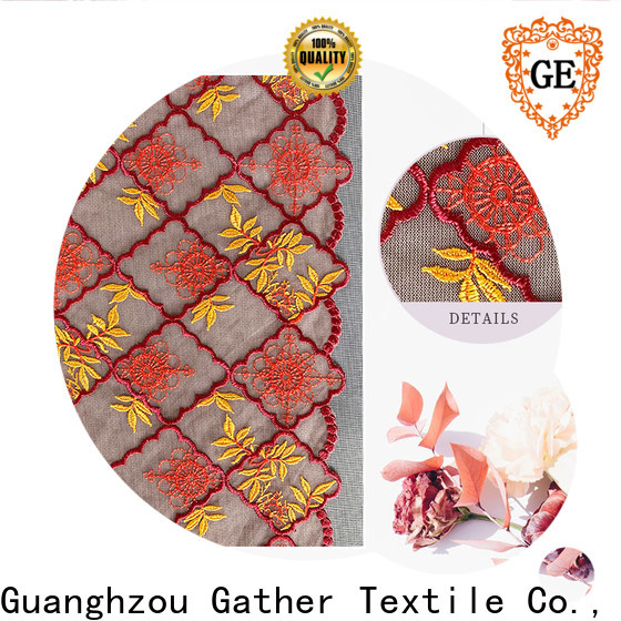 GT lace knit fabric Suppliers for promotion