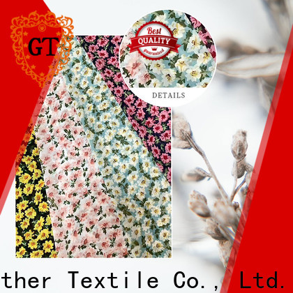 GT printed fabric manufacturers factory for promotion