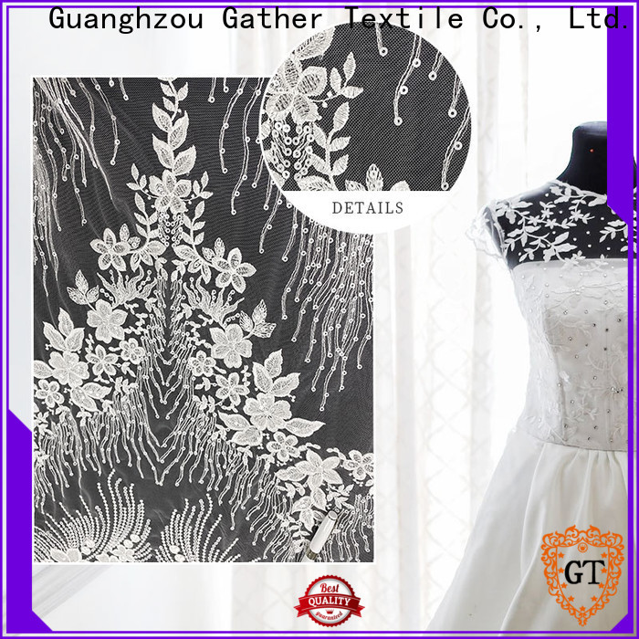 GT Wholesale embellished tulle fabric for business bulk buy