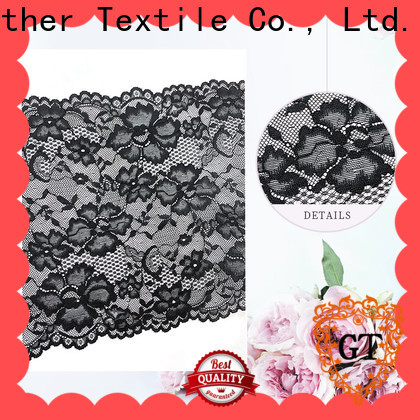 GT embroidered lace trim factory bulk buy