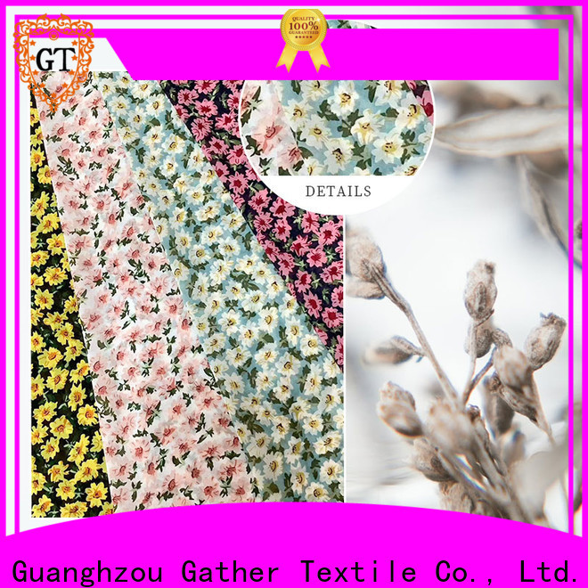 Wholesale printed fabric manufacturers company for promotion