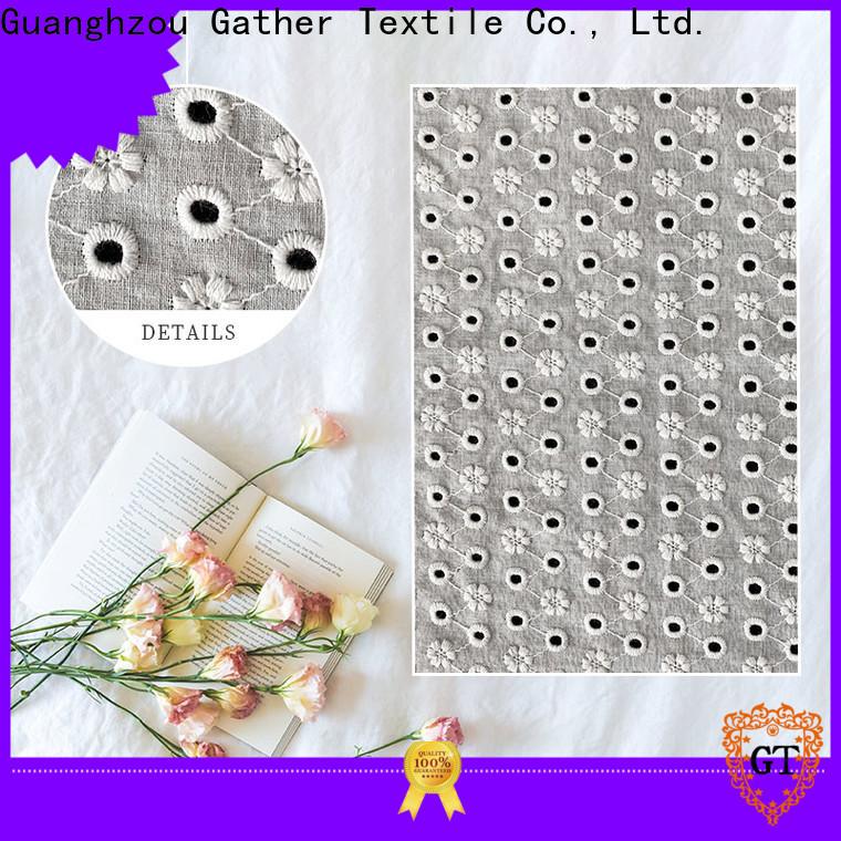 Wholesale cheap black lace fabric factory bulk buy