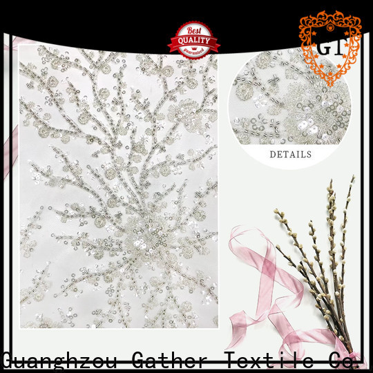 GT High-quality sequin embroidery company for promotion