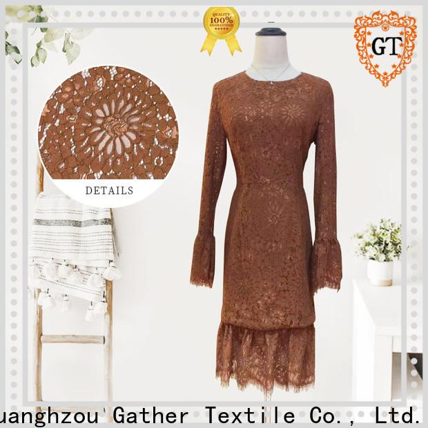 GT raschel fabric company bulk production