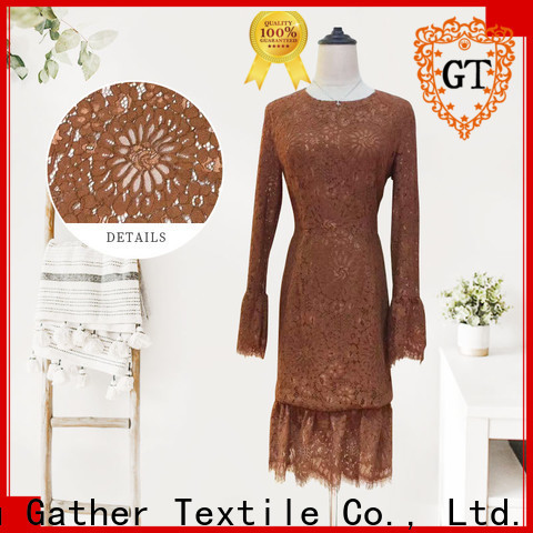 GT Top bridal lace trim factory for promotion
