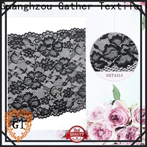 GT Custom stretch lace manufacturers for promotion