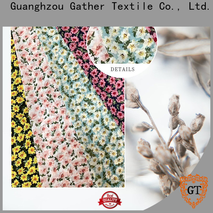 GT Best custom printed fabric manufacturers Supply for sale