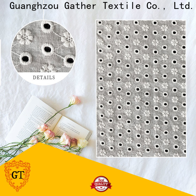 GT rhinestone lace fabric Suppliers for sale
