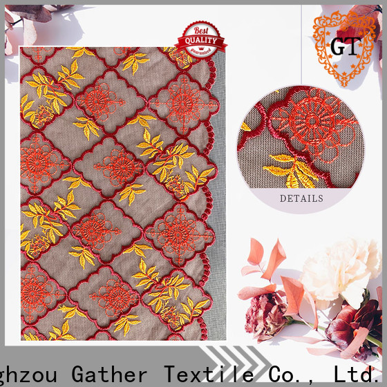 Wholesale fancy lace material for business bulk production