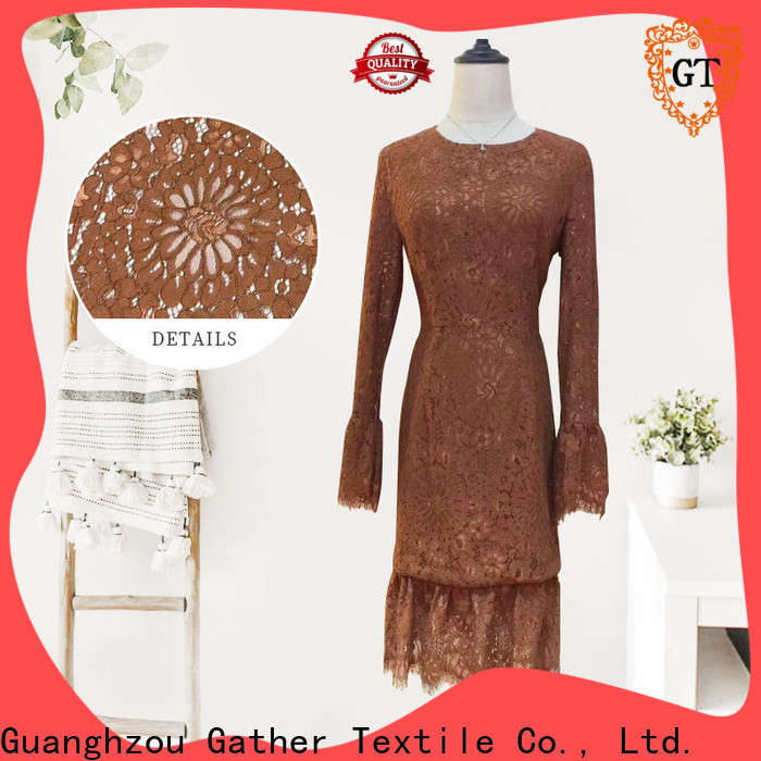 Latest eyelet lace trim for business for sale