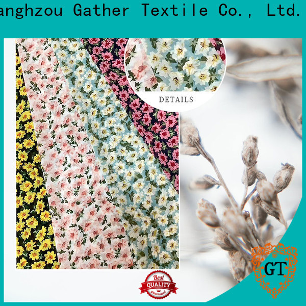 GT printed polyester fabric Suppliers bulk production