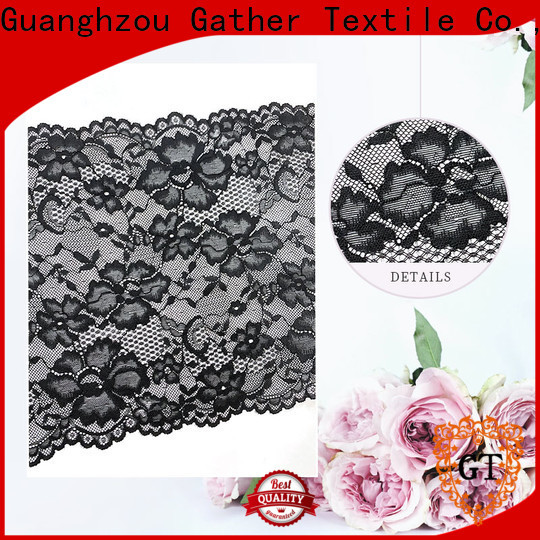GT white lace fabric for business on sale