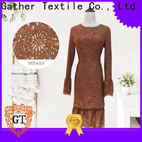 Custom allover lace factory for sale