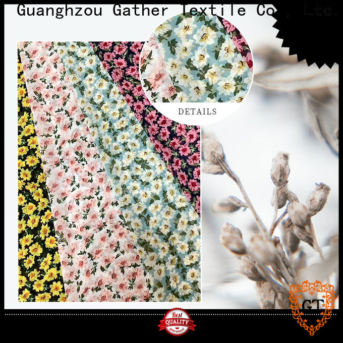 GT High-quality printed chiffon material manufacturers on sale