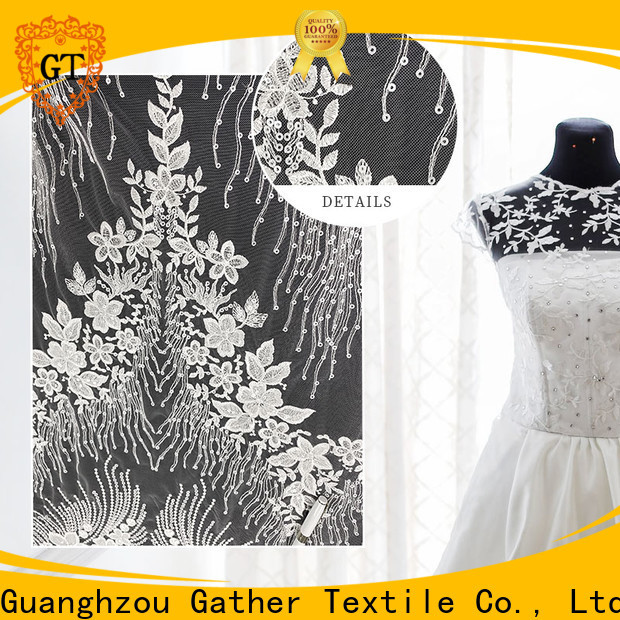 GT Wholesale pleated fabric for dresses for business for promotion