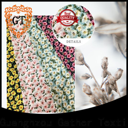GT printed muslin fabric for business on sale