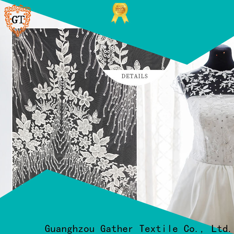 GT brown lace fabric for business for promotion
