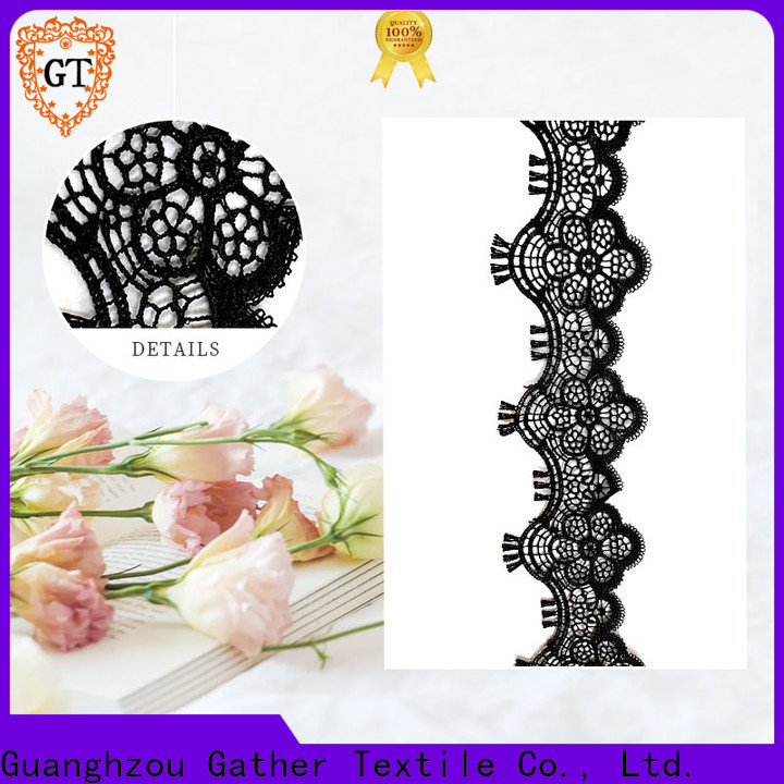 GT embroidered bridal lace fabric manufacturers on sale