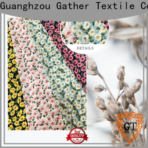 GT Latest order custom printed fabric company for promotion