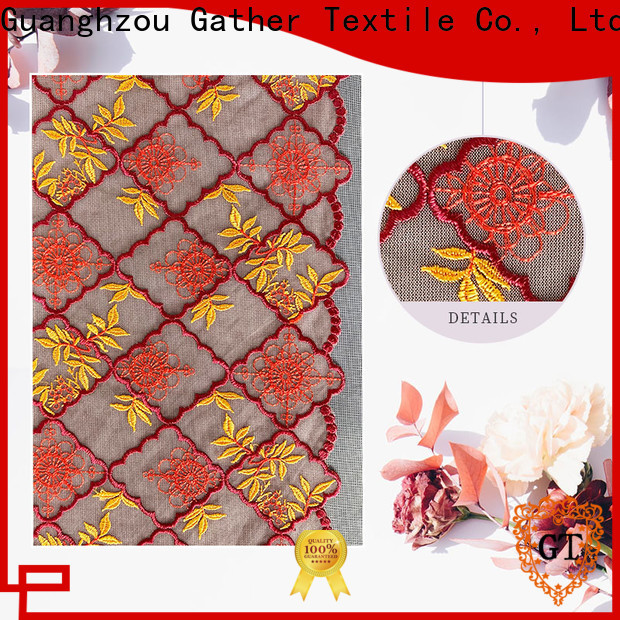 GT peach lace material for business bulk buy