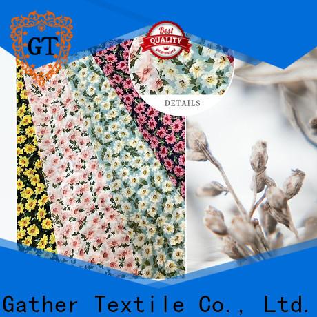 Top custom printed muslin fabric Supply for sale