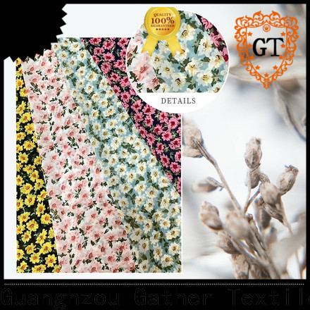 GT printed polyester fabric company for sale