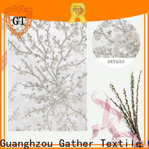 GT embroidery cloth material for business for sale