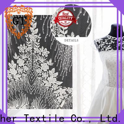 Top unique lace fabric company on sale