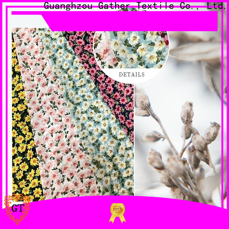 High-quality printed patterned cotton fabric Supply bulk production