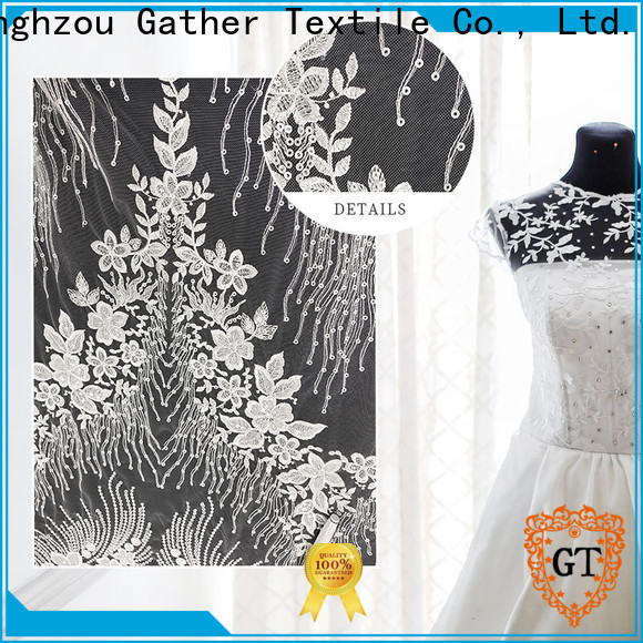 High-quality wholesale bridal lace Suppliers bulk production