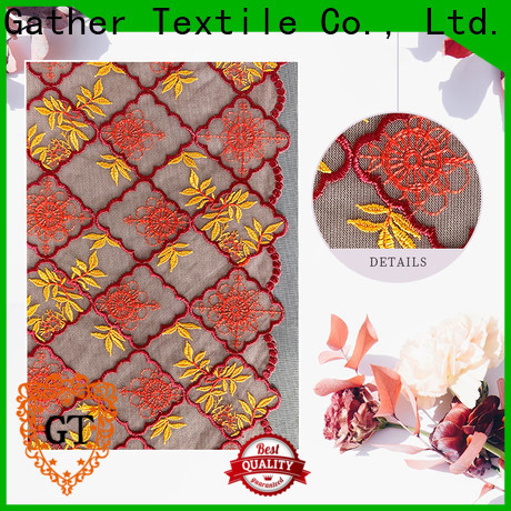 GT Custom raschel lace for business on sale