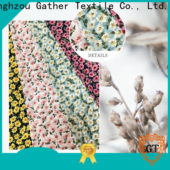 Wholesale custom printed silk fabric company bulk buy