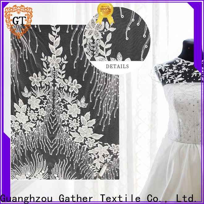 GT beaded fabric for sale Suppliers for promotion