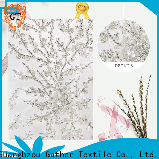 Wholesale embroidery fabric wholesale for business for promotion