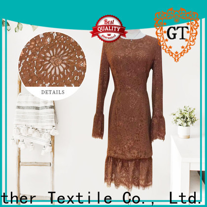 GT Latest raschel knit fabric factory bulk buy