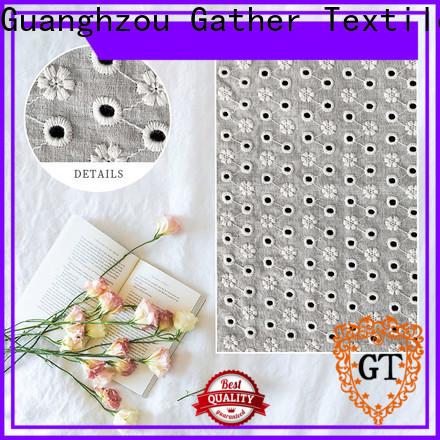 GT Custom guipure embroidery lace fabric company bulk buy