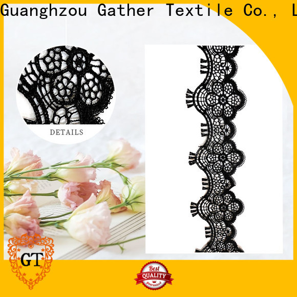 GT embroidered lace tee manufacturers for promotion