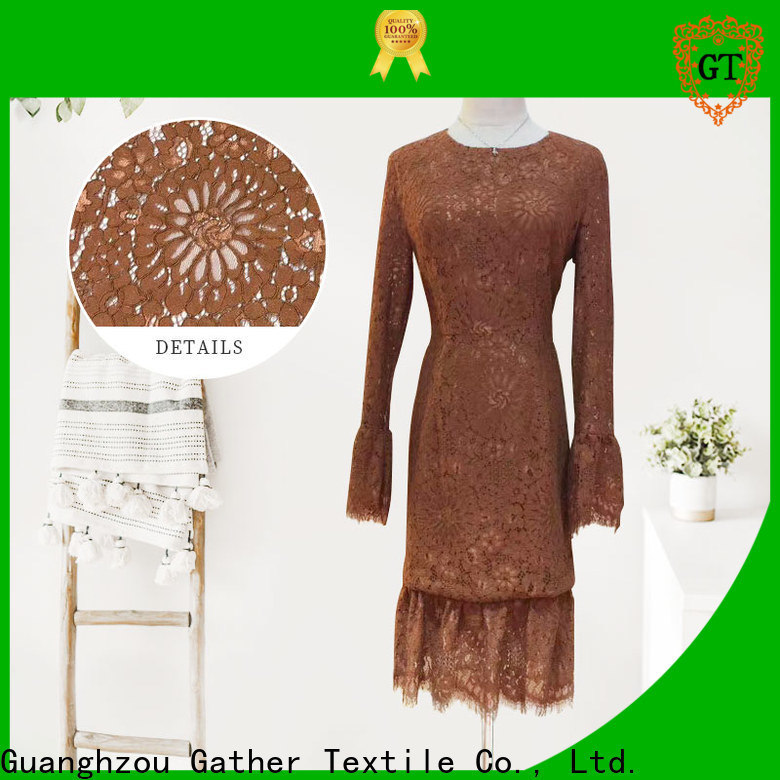 GT Best cotton lace factory for promotion