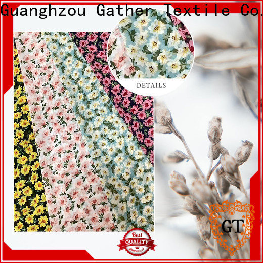 New custom printed upholstery fabric Suppliers for promotion