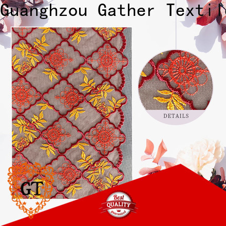 GT Custom cheap lace fabric online factory bulk production