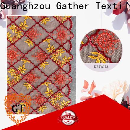 GT Custom cheap lace fabric online factory bulk production