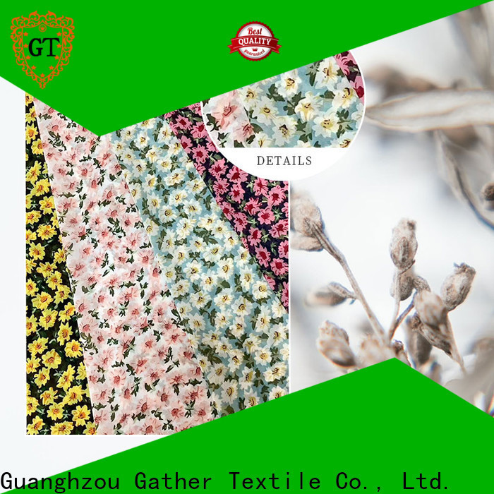 Best printed patterned cotton fabric Supply bulk buy