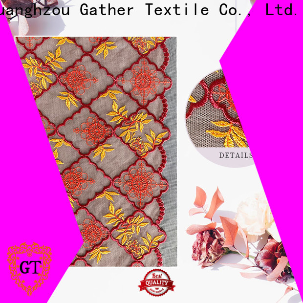 GT Custom lace fabric online Supply bulk buy