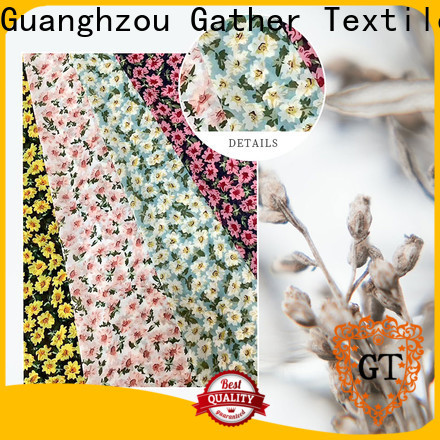 GT printed clothing fabric company bulk production