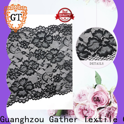 Custom embroidered lace fabric manufacturers bulk buy