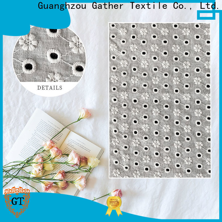 GT cream lace fabric company for sale