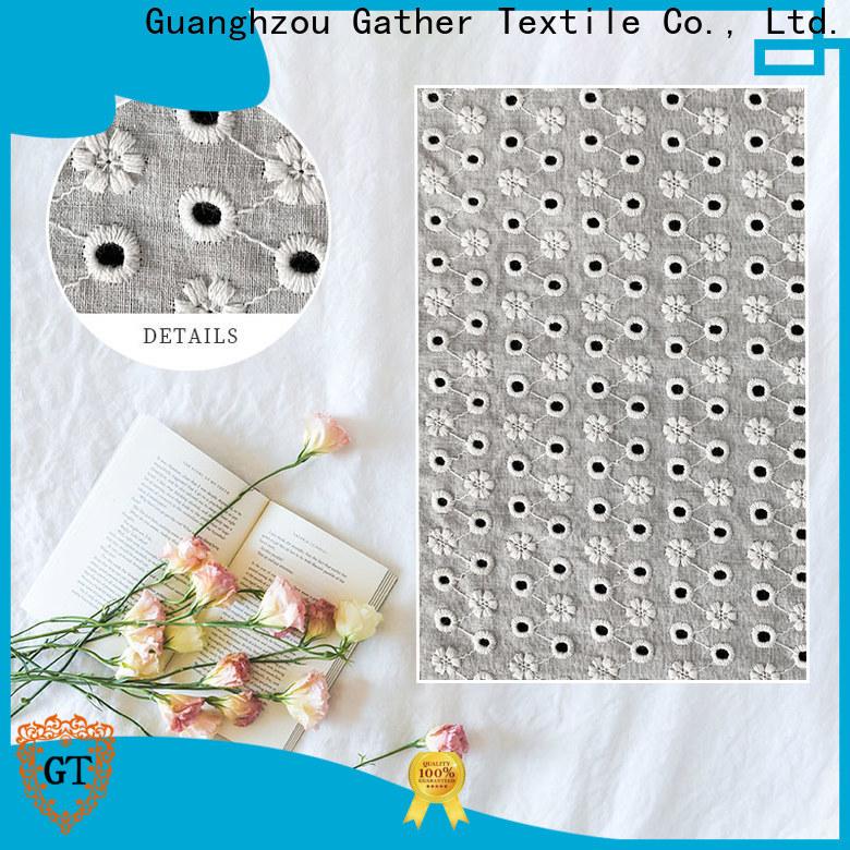 GT cream lace fabric company for sale