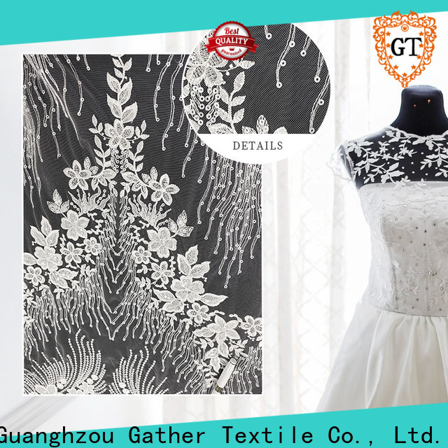 GT Top bridal lace fabric wholesale factory on sale