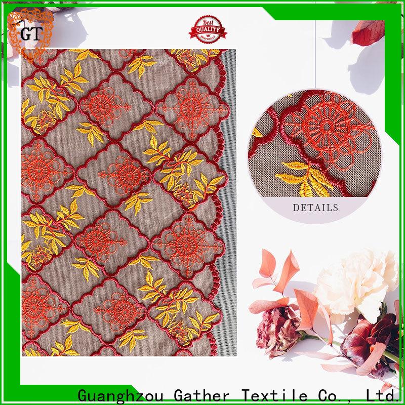 Top rayon lace fabric company bulk buy