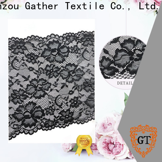 GT stretch lace trim manufacturers bulk production
